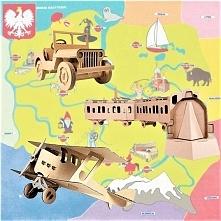 Zabawki z tektury: Polska p...