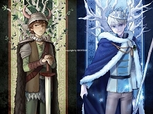 Wódz wikingów i król