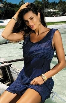 Marko Vivian Cosmo M-414 tunika Bardzo kobieca tunika, świetna do każdego kostiumu kąpielowego, wykonana z wysokogatunkowej tkaniny