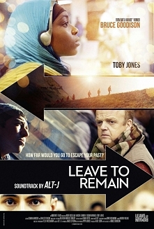 Odejść by pozostać (2013)  dramat  Film opowiadający historię uchodźców którzy przybyli do UK po pomoc.  Dość smutny film , ale nie zmarnowałam czasu.  ocena 7/10