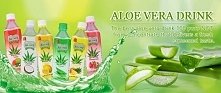 aloe vera juice drink from ...