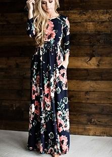 Sukienka z kieszeniami <3