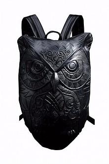Hex Libris owl backpack