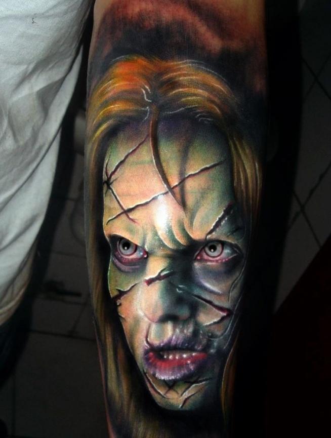 Tatuaże Z Horrorów Na Tatuaże Zszywkapl