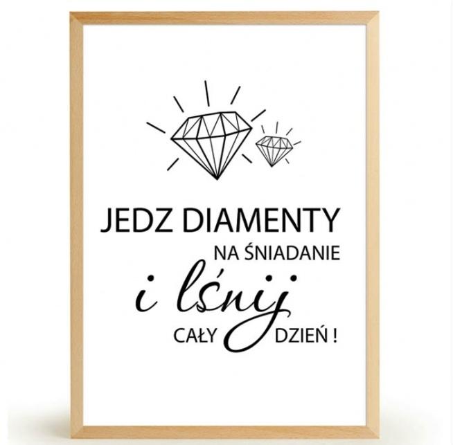 Plakat DIAMENTY