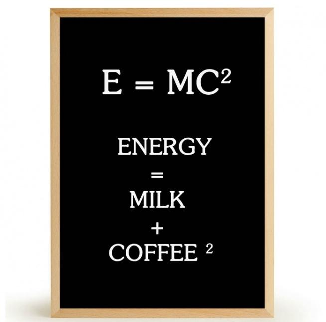 Plakat E=MC2