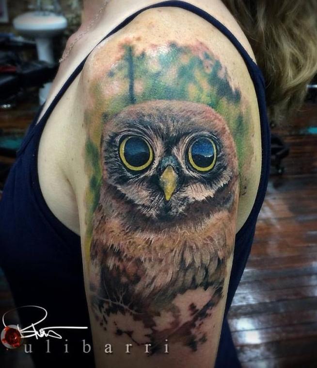 Sowa Tatuaż Na Tatuaże Zszywkapl