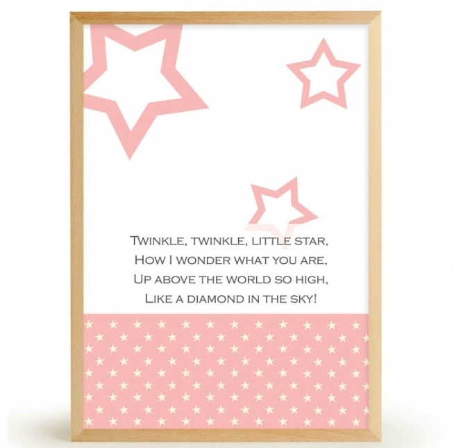 Plakat TWINKLE TWINKLE LITTLE STAR