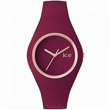 Ice Watch ICE.GL.ANE.U.S.14 damski zegarek w kolorze bordowym na miękkim sili...