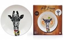 Gina Giraffe Wild Dinning Plate