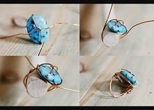 pierścionek z drutu jubiler...
