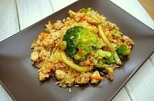 Prosty i smaczny kurczak z warzywami. PRZEPIS PO KLIKNIĘCIU W ZDJĘCIE!