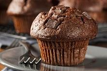 Najlepsze muffiny czekoladowe z kawałkami czekolady. PRZEPIS PO KLIKNIĘCIU W ...