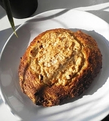 fit drożdżówka z serem