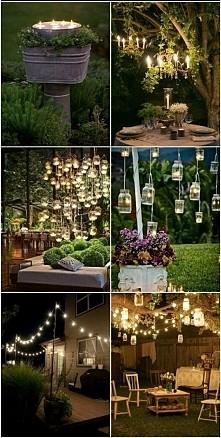 Pomysły na dekorację ogrodu :)
