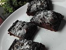 brownie z cieciorki, pycha!...