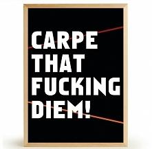 Plakat CARPE DIEM
