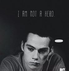 I am not e hero.