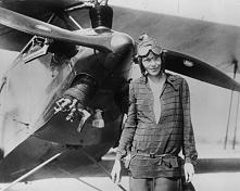 Być odważną jak ona - Amelia Earhart- pierwszą kobietą, która przeleciała nad Atlantykiem i pierwszą, która dokonała tego samotnie <3