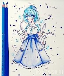 rysunek dla pewnej dziewczyny z instagrama (nightwic) - jej oc Jinx chan