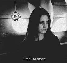 i like be alone , it's make me happy ...