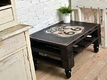 Stolik z palet ❤ Posiada ktoś z Was taki stolik? Jeśli tak to uważacie że jest lepszy od takiego zwykłego zakupionego w sklepie? ;*