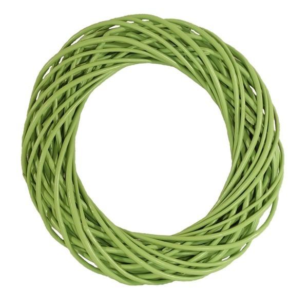 Wiklinowy wianek, podstawa stroika - zielony