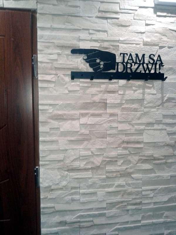 Tam są drzwi - wieszak na ubrania - art-steel.pl