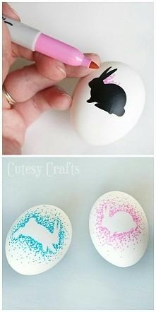 pomysł na udekorowanie jaje...