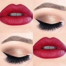 Prawidłowy makijaz do czerwonych ust