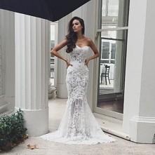 Koronkowa suknia ślubna - K...