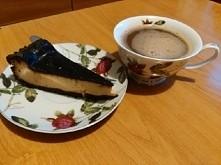 sernik z czekoladą + cappuccino