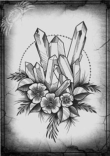 Tatuaż wzór ,wieczorne szki...