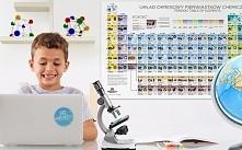 Tablica edukacyjna eduart z układem okresowym pierwiastków ułatwi dziecku naukę.