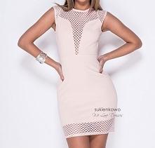 SPICY ołówkowa sukienka z sexownym dekoltem Kliknij w zdjęcie