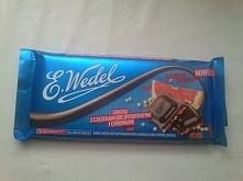 przepyszna i przecudowna czekolada z cząstkami grejpfruta i chrupek. Szczegół...