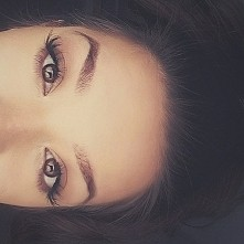Eyes , make-up Brown