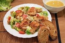 Najlepsza sałatka cezarska, zdrowa i dietetyczna ( przepis po kliknięciu w zdjęcie )
