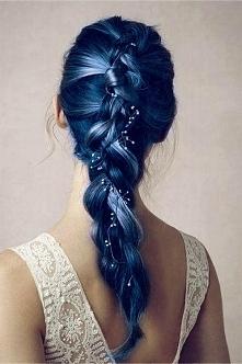 CO myślicie o granatowych włosach ? na długo utrzyma się efekt?