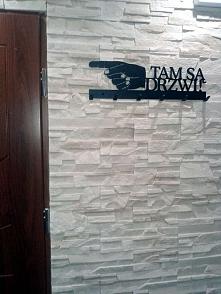Tam są drzwi - wieszak na u...