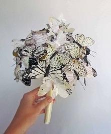 bukiet motyli