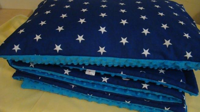 Komplet pościeli ocieplanej Wkład do poduszki i powłoczka 40 x 60 cm Kocyk - 100 x 160 cm