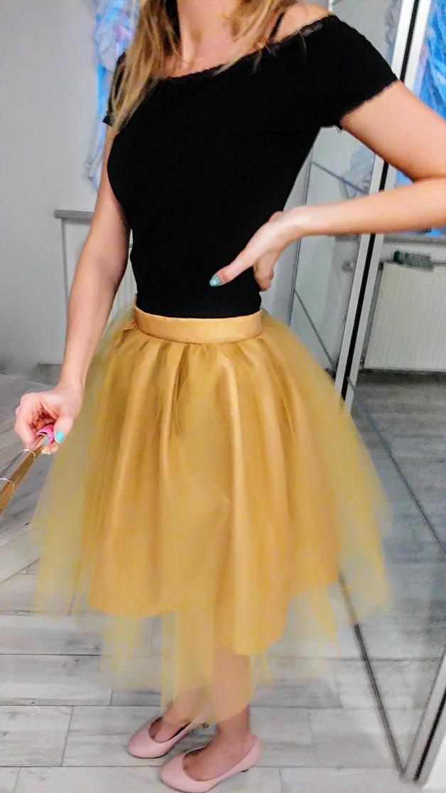 spódnica tiulowa tutu