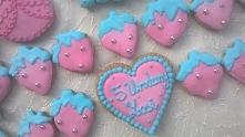 Pierniczki dla dziewczynki z okazji urodzin.