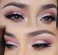 Makijaże codzienne z różowym cieniem, powiększające oczy > JAK ZROBIĆ TAKI...