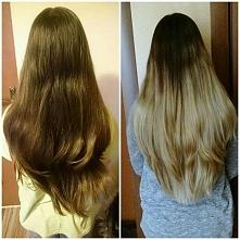 Wiosenna metamorfoza moich włosów ;)