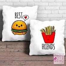 Komplet 2 poduszek Best Friends