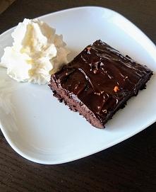 Obłednie czekoladowe browni...