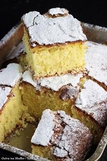 EKSPRESOWE CIASTO JOGURTOWE  Uwaga!  Tego ciasta nie wolno wyrabiać, miksować...