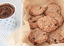 Pyszne dietetyczne ciasteczka orkiszowe bez mąki i cukru